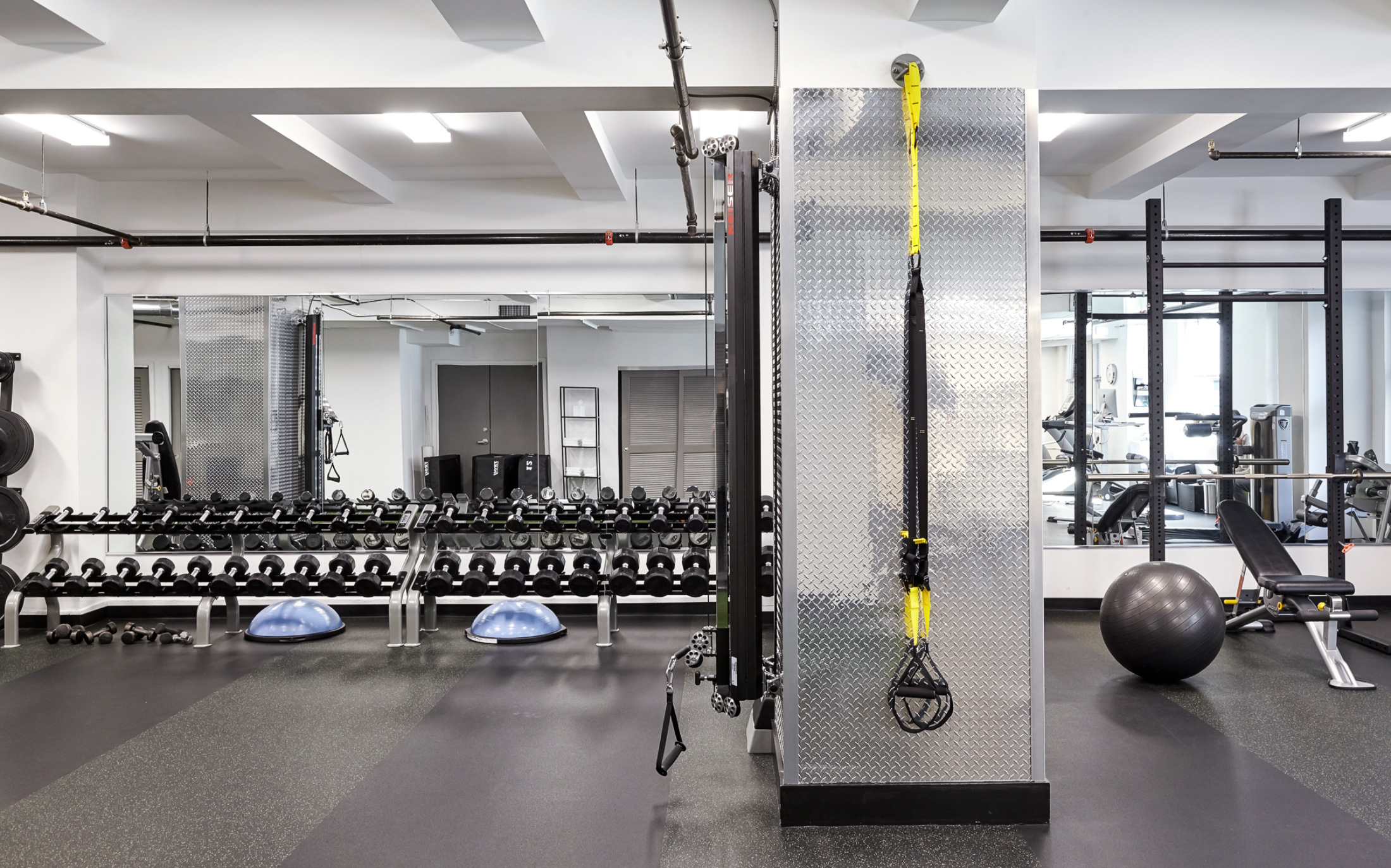 private gym at elevate
