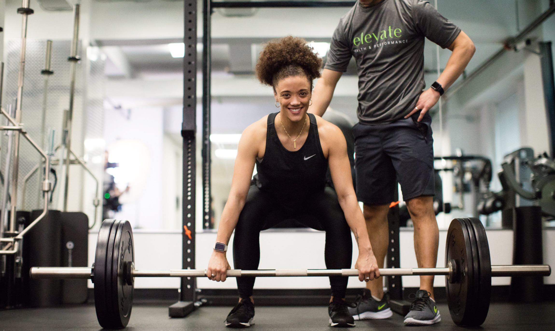 At elevate our Center City Fitness Trainers all have 4-year degrees - or more.