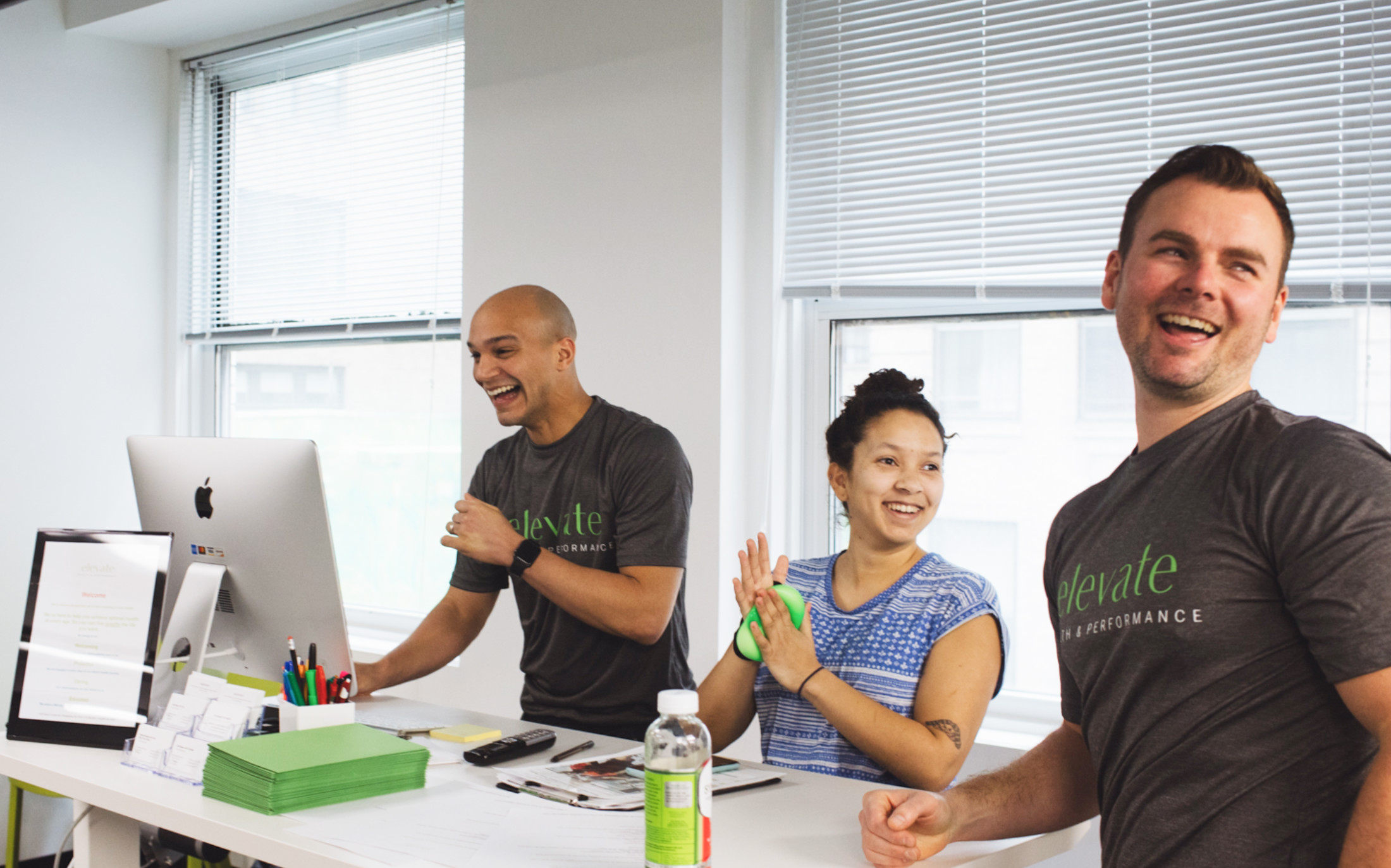 Our personal training center team focuses holistically on your wellbeing
